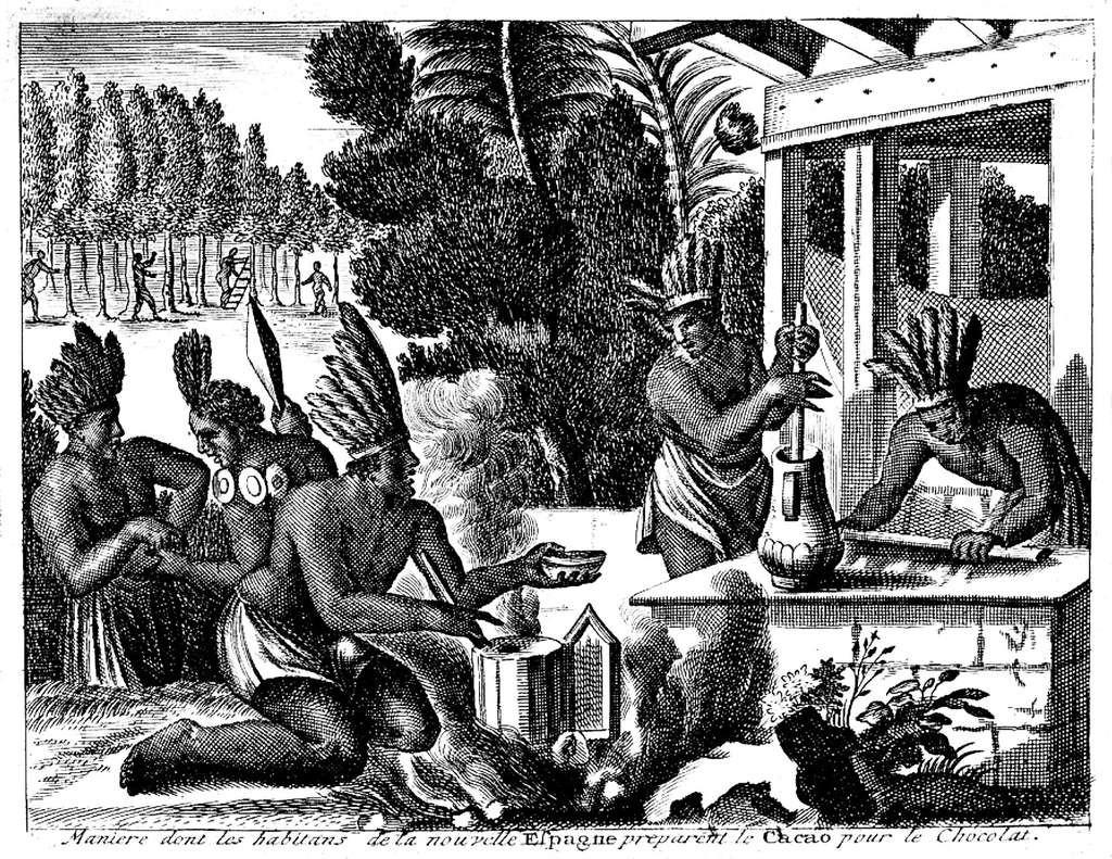 La découverte du chocolat chez les Mayas et les Aztèques